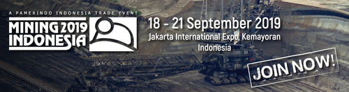 HALLD1-8105 Mining Indonesia - 18-21 September 2019, Jakarta Jakarta International Expo, Kemayoran.