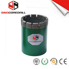 NW HW Berlian Casing Shoe Berlian Inti Bit, Durable diresapi Berlian Core Drill Bit
