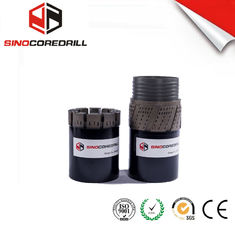 Medium To Hard Formation Diresmikan Diamond Core Drill Bit bq nq hq pq