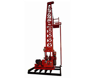 Cina 300m Spindle Core Drilling Rig Dengan Tower GXY- 2T / GXY-2BT / GXY-2CT pemasok