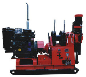 300m Hidrolic Chuck Spindle Mining Geological Core Drilling Machine
