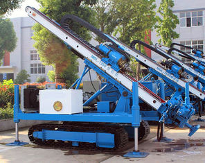 0 ~ 90 ° Hydraulic Crawler Deep Foundation Pit Anchor Drilling Rig