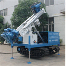 Self-Walking Track Mounted Water Well Drilling Rig of  Drilling Depth 300 meters  with 150mm-400mm Drilling Diameter