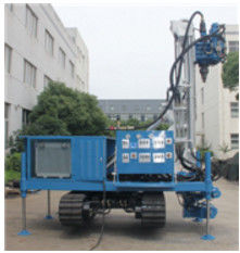 Blue Self Walking Water Drilling Rig, Water Drilling Equipment